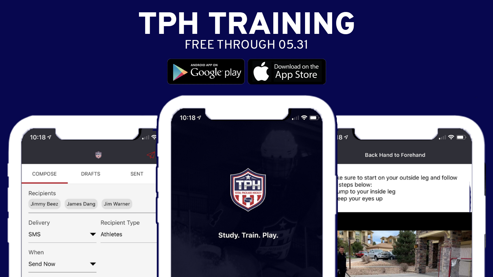 TPH TRAINING APP WEB